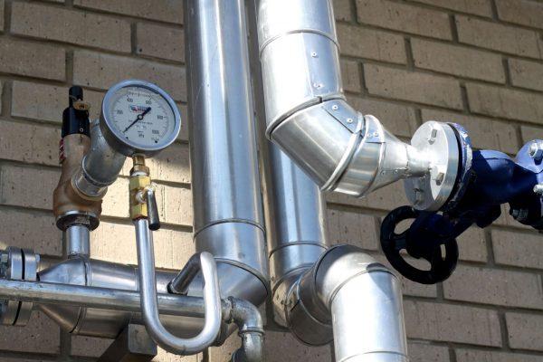 Massfresh Steam pipe Installation