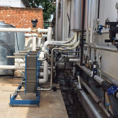 Zambeef Heat exchanger installation